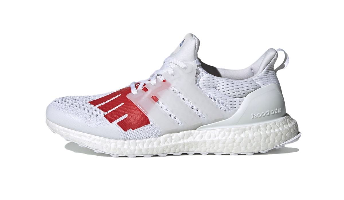 """Undefeated x adidas Ultra Boost 1.0 """"White/Red"""""""