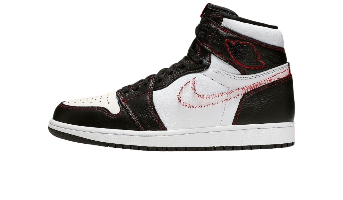 "Nike Air Jordan 1 Defiant Couture ""Stitch Swoosh"""