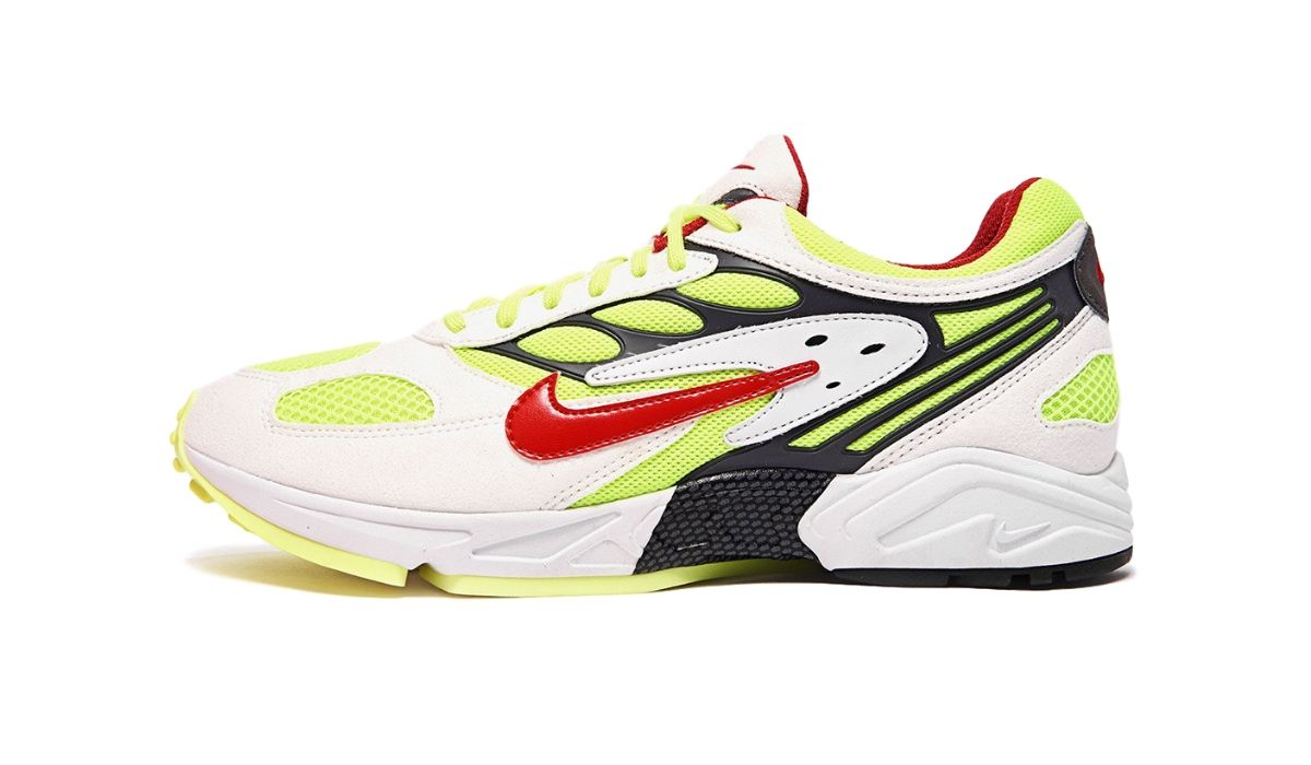 "Nike Air Ghost Racer ""White/Atom Red"""