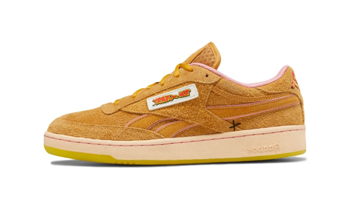 Tom & Jerry x Reebok Club C Bold Brass