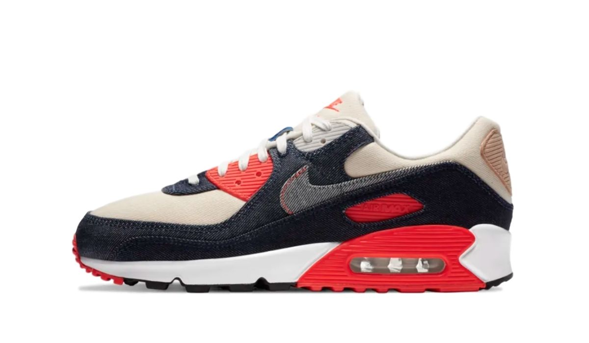 Denham x Nike Air Max 90 Infrared