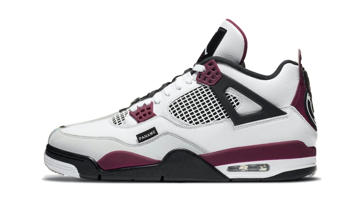 PSG x Nike Air Jordan 4 White/Bordeaux