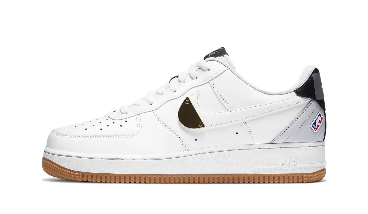 Nike Air Force 1 NBA White Platinum