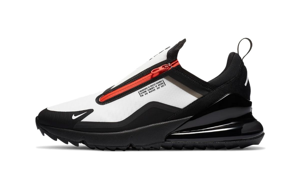 Nike Air Max 270 Golf Shield Black Orange