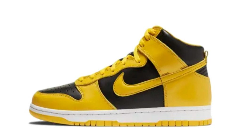 Dunk High Yellow Black