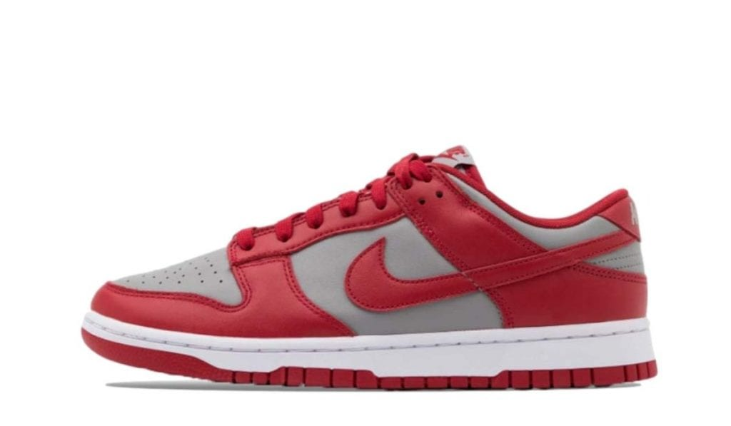 dunk low unlv varsity red