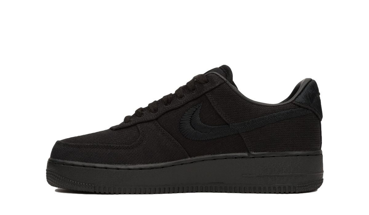 Stussy x Nike Air Force 1 Black