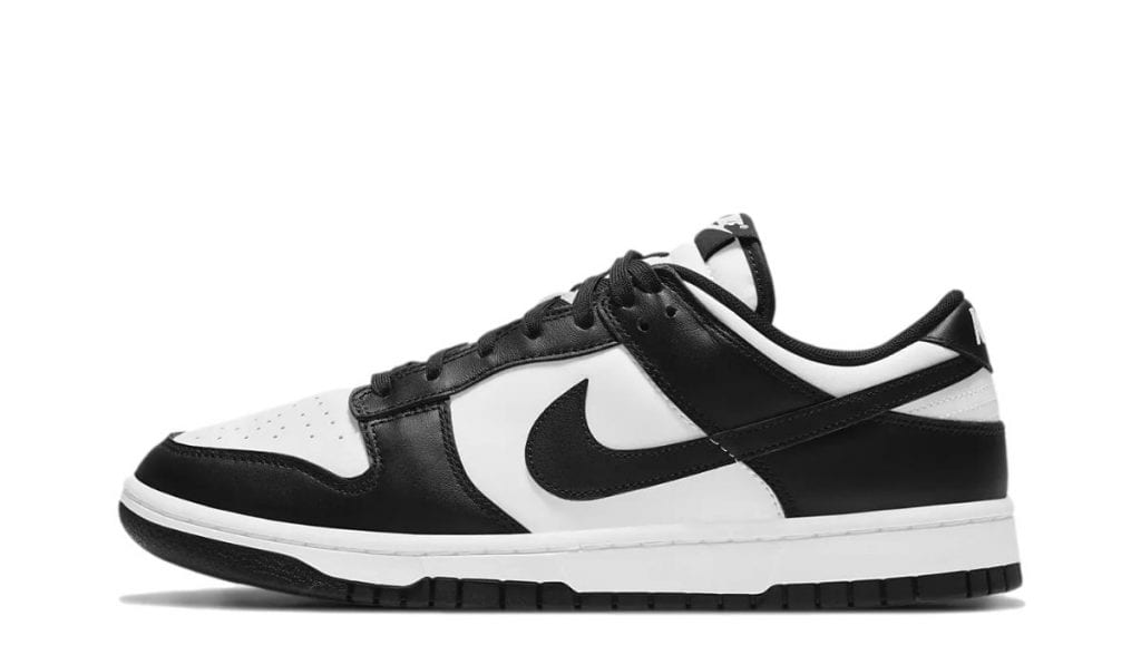 Dunk Low White Black
