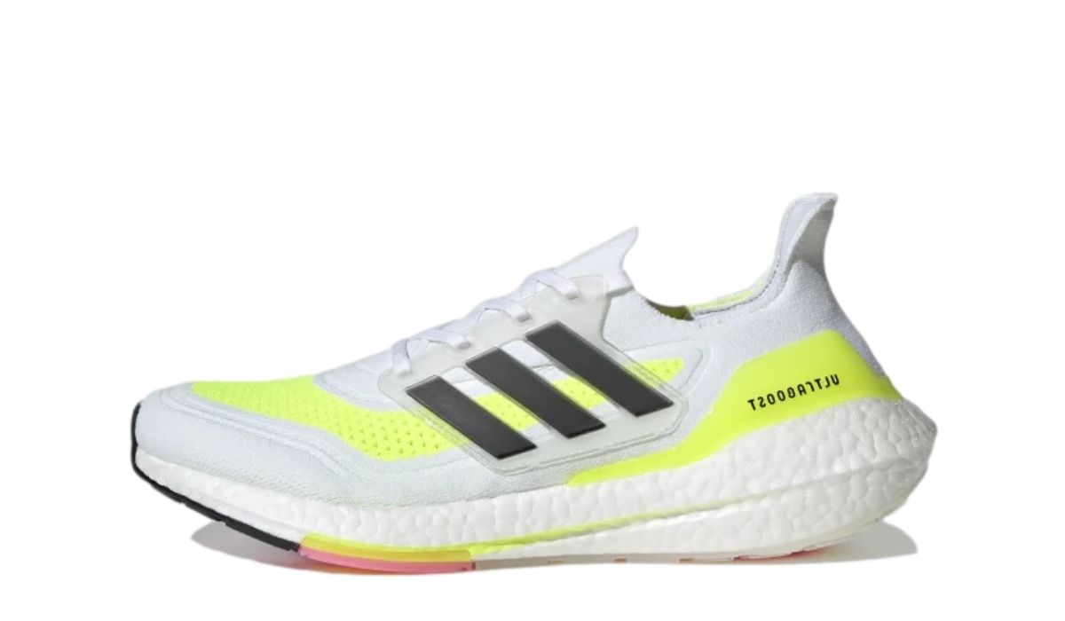 adidas Ultra Boost 21 White Yellow
