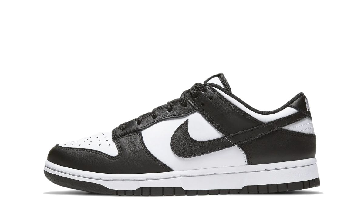 Nike WMNS Dunk Low Black White