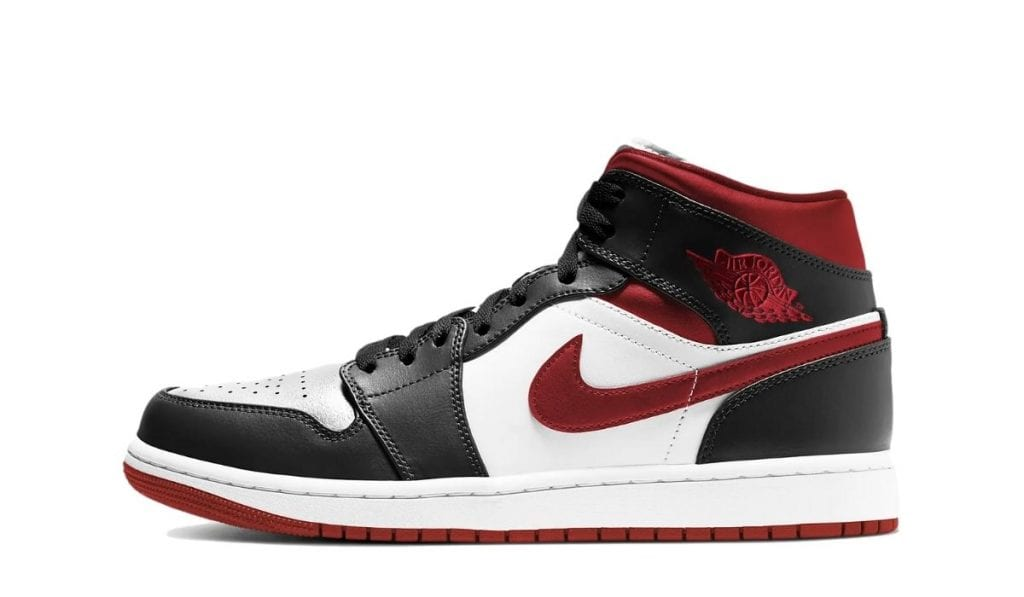 Jordan 1 Mid Metallic Red