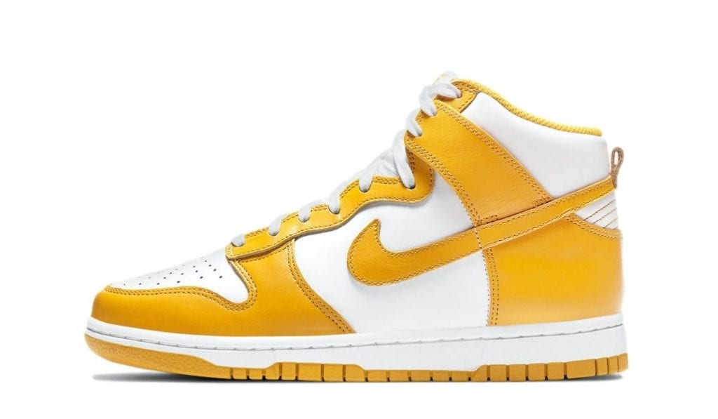 Dunk High Yellow White