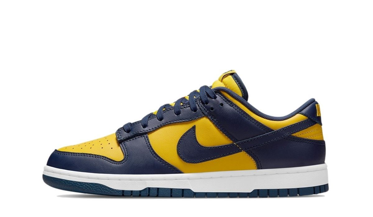 Dunk Low Yellow Blue