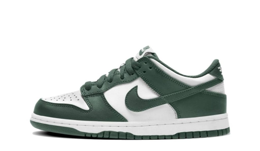 Dunk Low White Green
