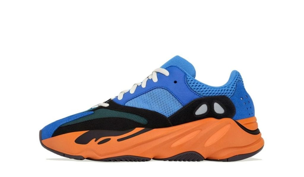 Yeezy 700 Blue orange