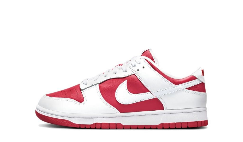 Dunk Low Red White