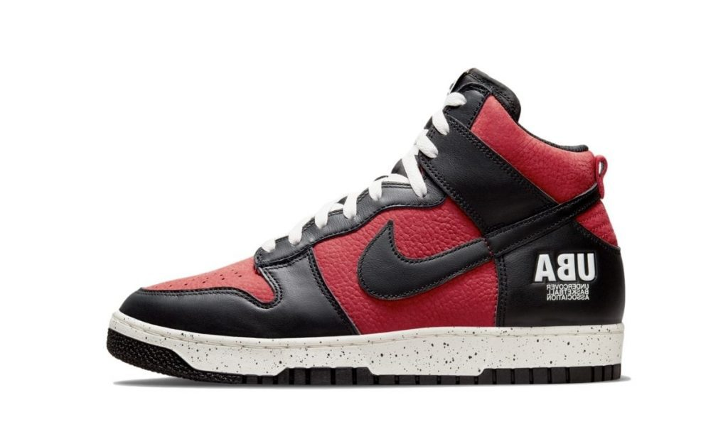 Undercover Dunk Red Black