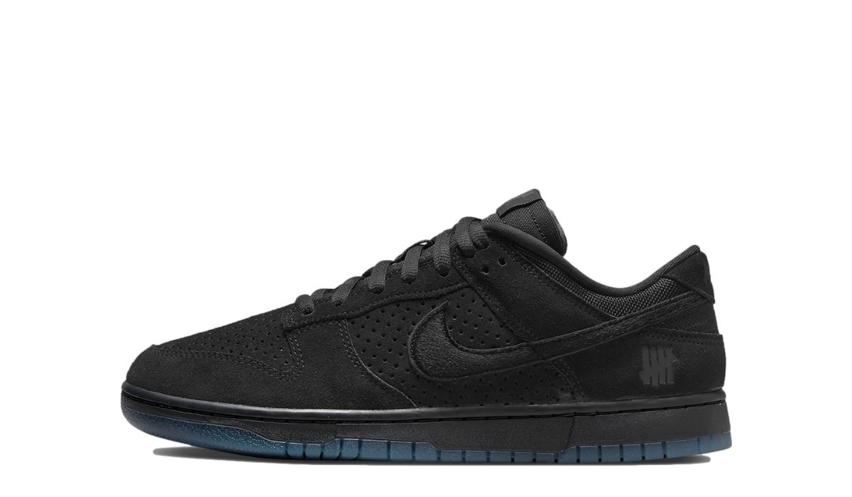 UNDEFEATED x Nike Dunk Low Dunk Black