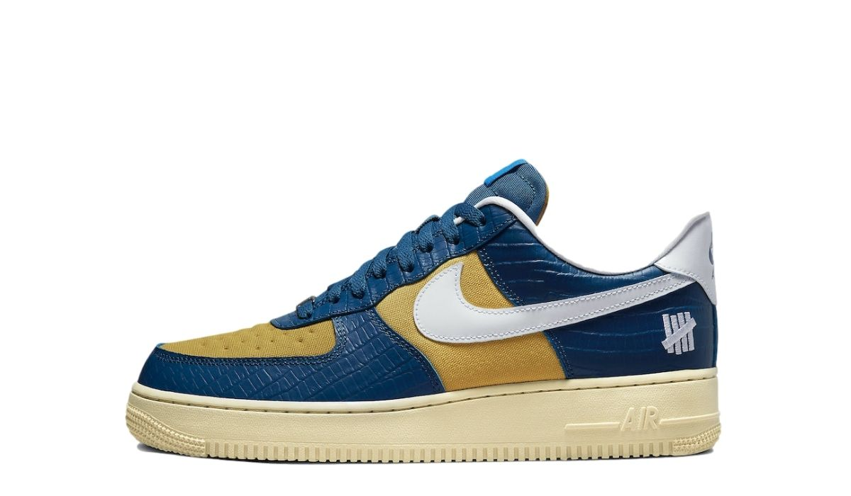 UNDFTD x Nike Air Force 1 Dunk vs AF-1 Yellow