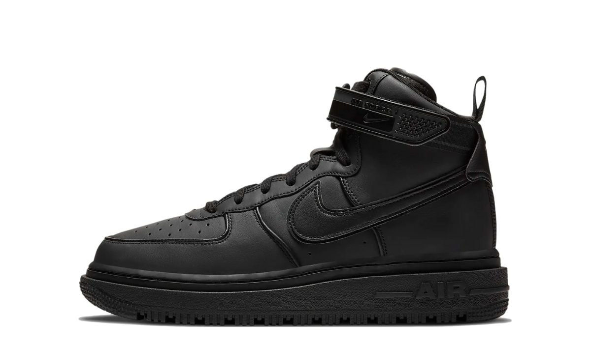 Nike Air Force 1 Winter Boot All Black